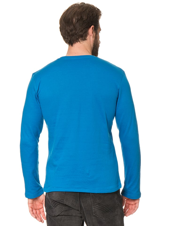 Tom Tailor Sweatshirt in Blau
