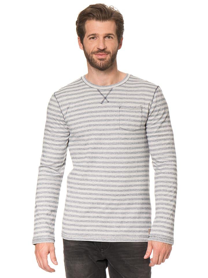 Tom Tailor Sweatshirt in Grau