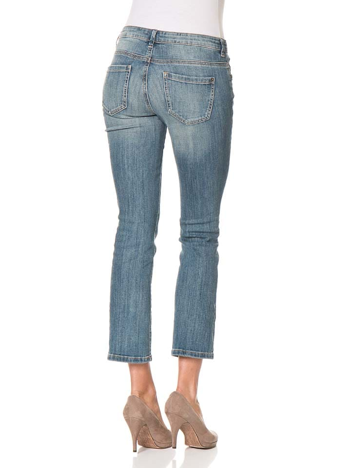 "Tom Tailor Jeans ""Carrie"" - Slim fit - in Blau"