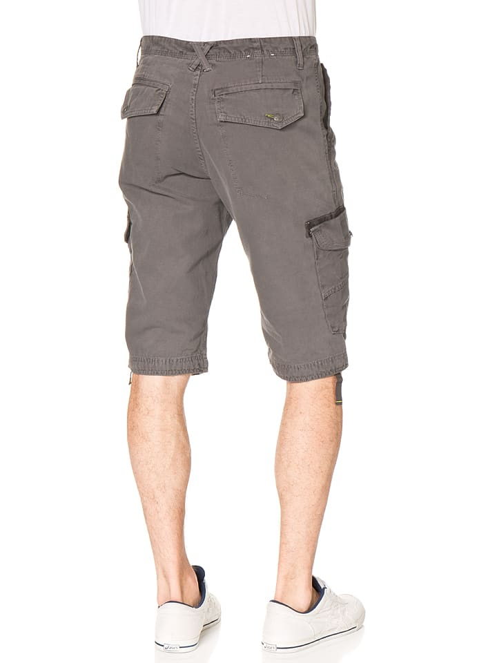 Tom Tailor Bermudas in Grau