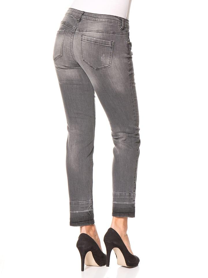 Tom Tailor Jeans - Slim fit - in Grau
