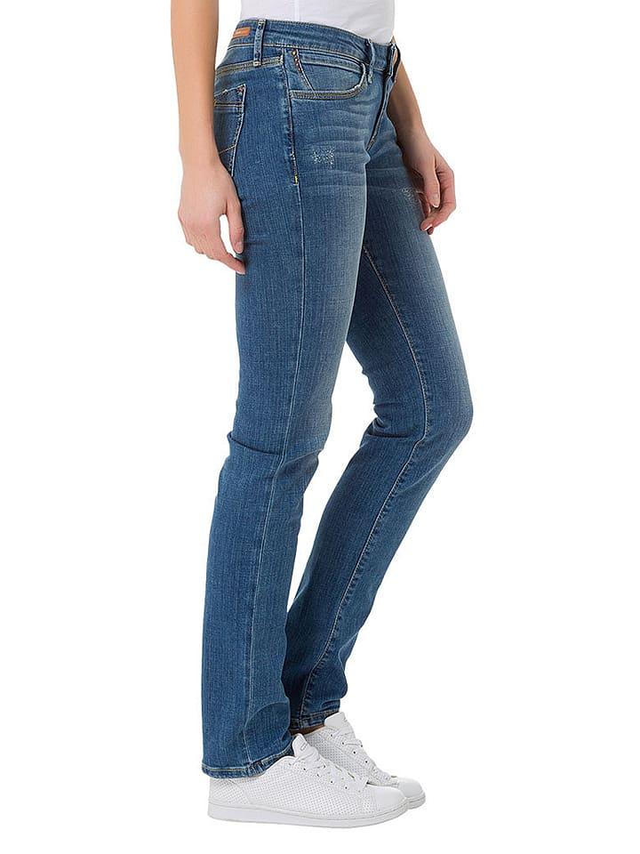 "Cross Jeans Jeans ""Elsa"" - Skinny fit - in Blau"