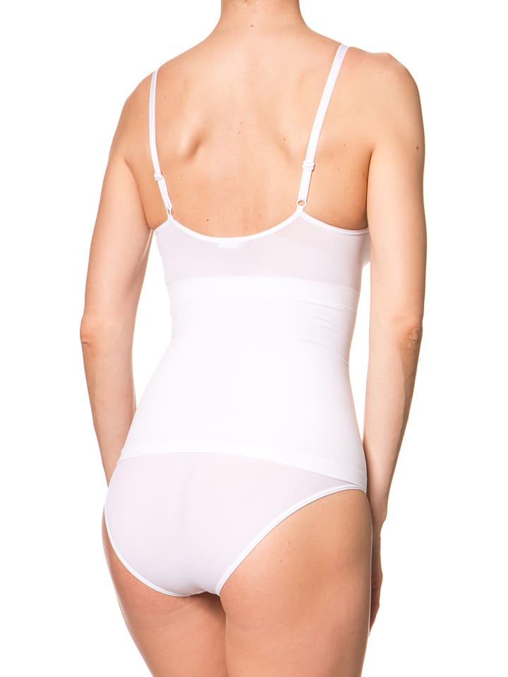 Miss Perfect Shapewear Shape-Top in Weiß