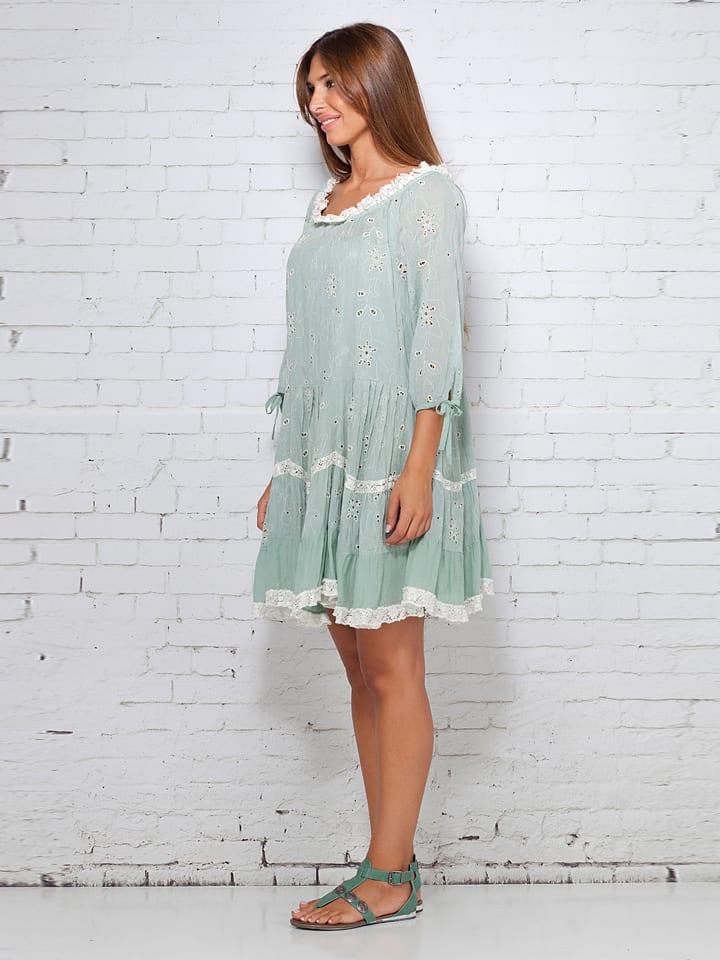 Calao Kleid in Grün