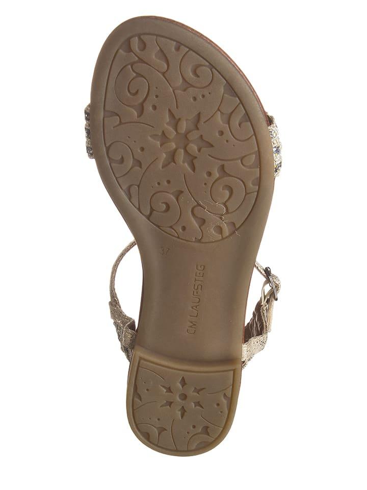 Laufsteg Sandalen in Beige