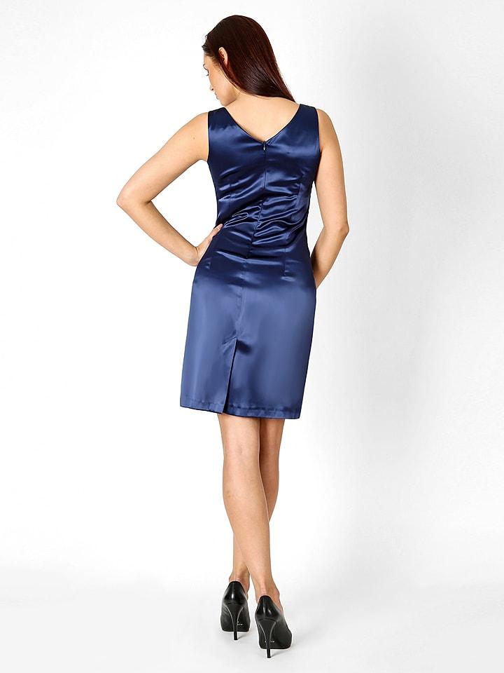 "LARA RICCI Kleid ""Oriana Lace"" in Blau/ Dunkelblau"
