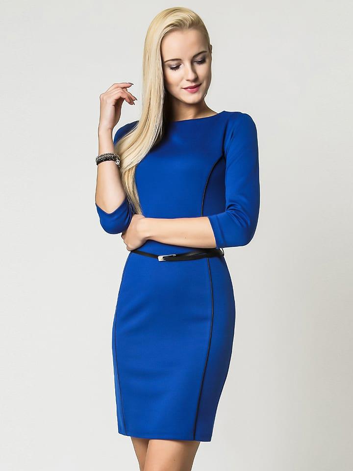 """LARA RICCI Kleid """"Pola"""" in Blau"""