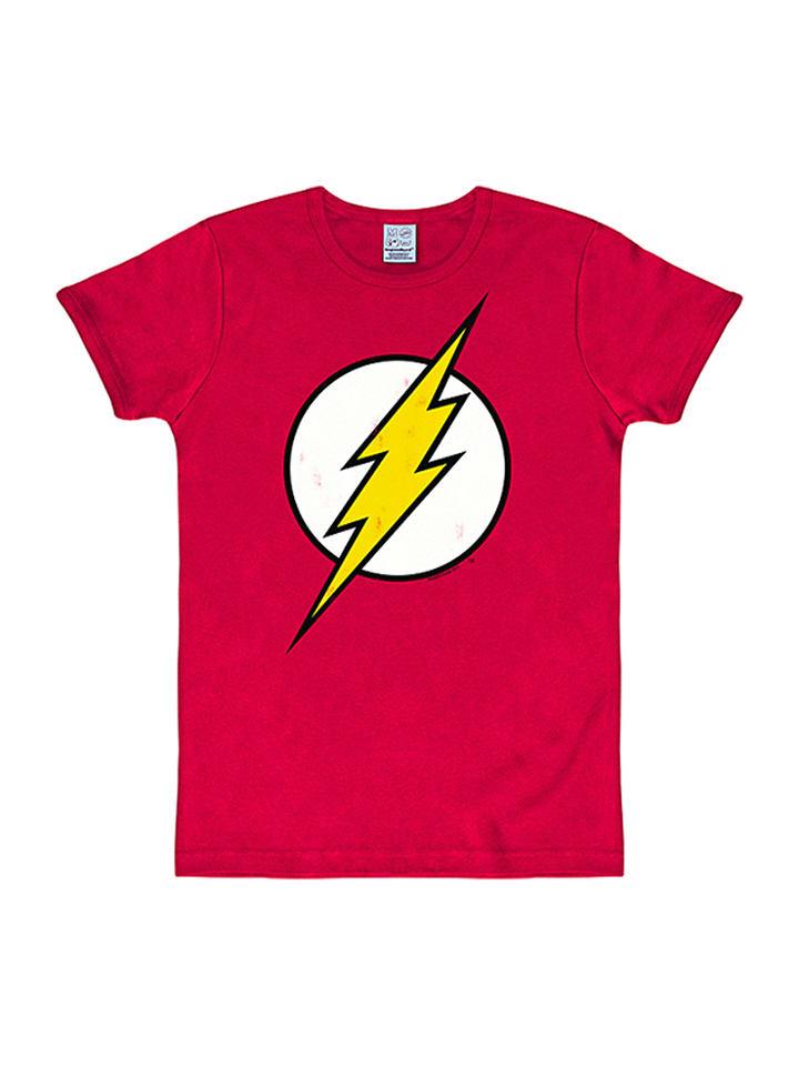 "Logoshirt Shirt ""DC - Flash"" in Rot"