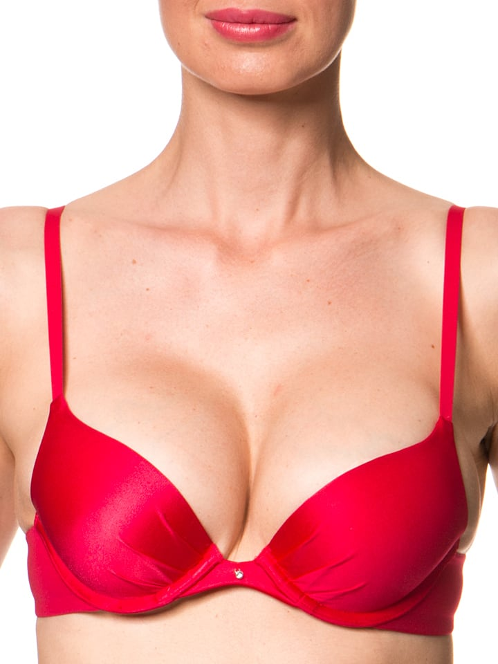MAIDENFORM Push-up-BH in Rot