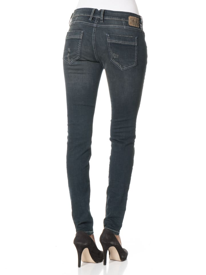 "Gang Jeans ""Valencia"" - Relaxed Fit - in Dunkelblau"