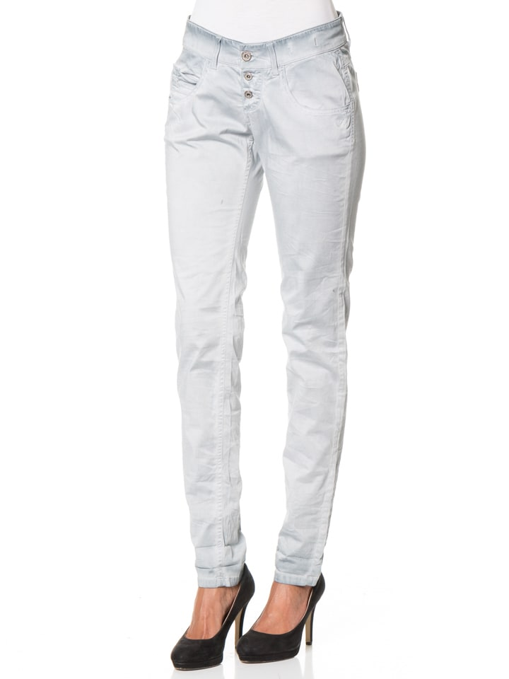"""Gang Hose """"Valencia"""" - Relaxed Fit - in Hellblau"""