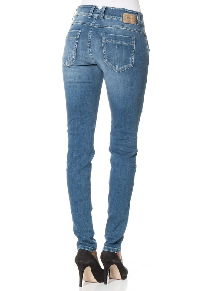 """Gang Jeans """"Valencia"""" - Relaxed Fit - in Blau"""