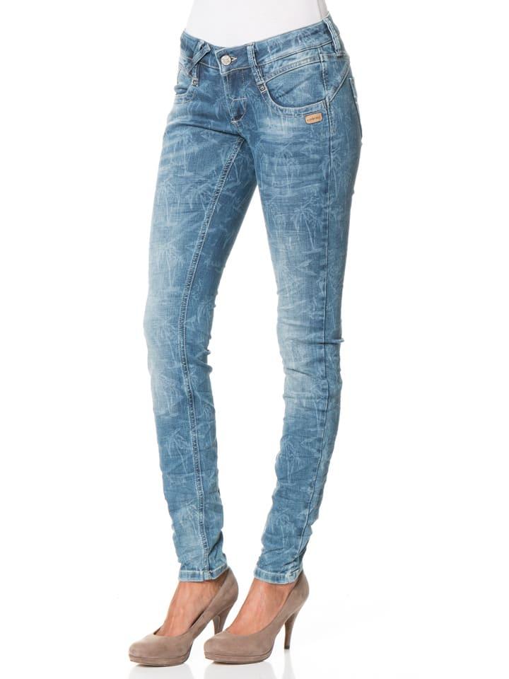 "Gang Jeans ""Nena"" - Skinny Fit - in Blau"