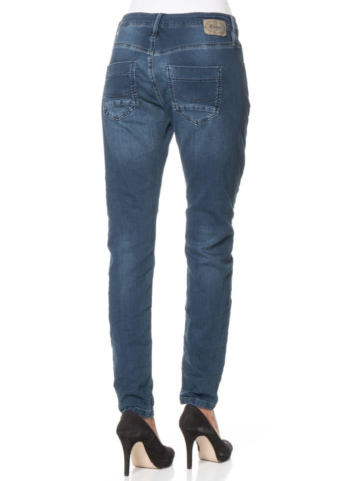 "Gang Jeans ""Cosy"" - Deep Crotch - in Dunkelblau"