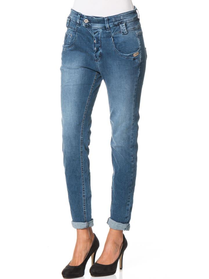 "Gang Jeans ""Marge"" - Deep Crotch - in Blau"