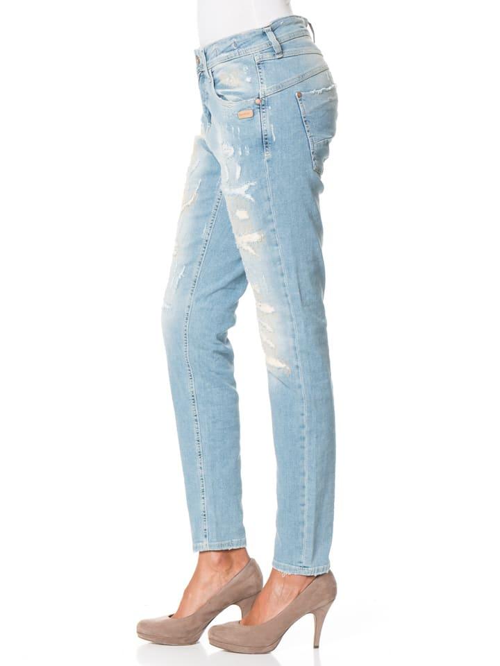 "Gang Jeans ""Amelie"" - Relaxed Fit - in Hellblau"