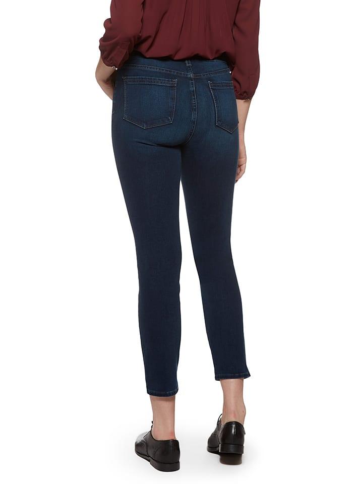 "NYDJ Jeans ""Clarissa"" in Dunkelblau"