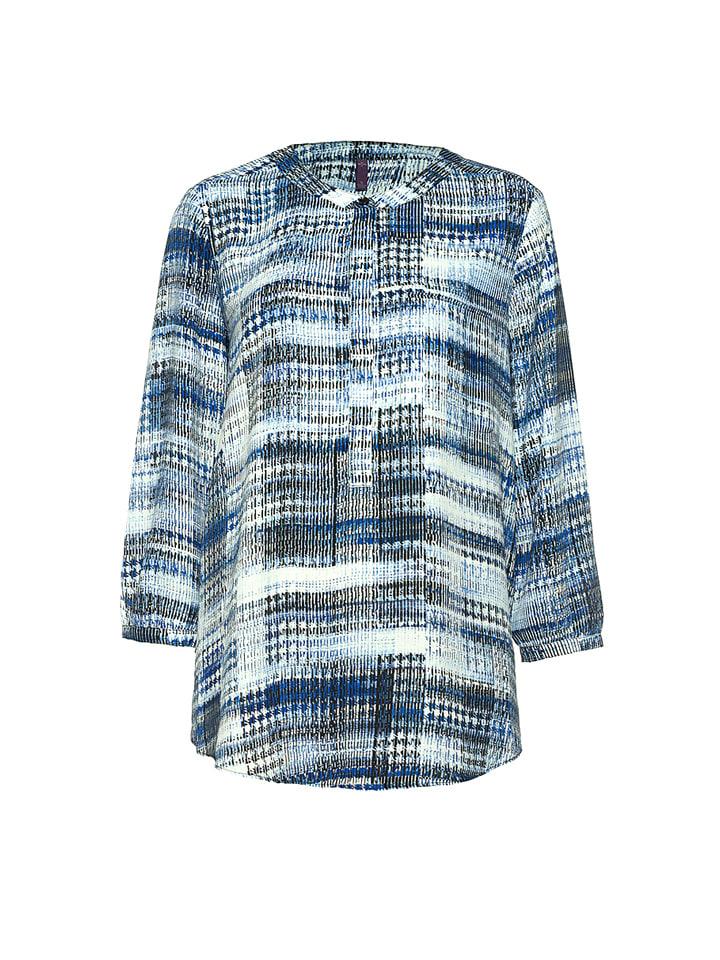 NYDJ Shirt in Blau/ Weiß
