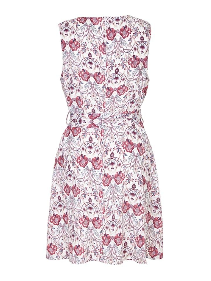 Iska Kleid in Weiß/ Rosa/ Pink