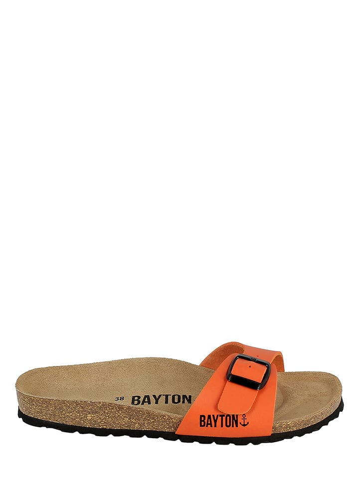 BAYTON Pantoletten in Orange
