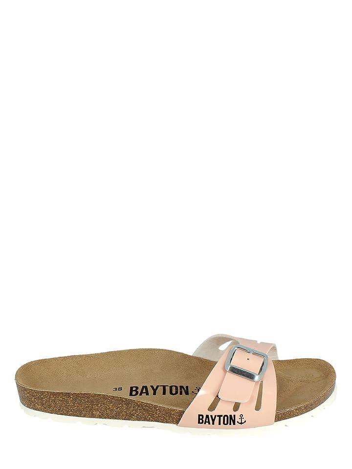BAYTON Pantoletten in Apricot