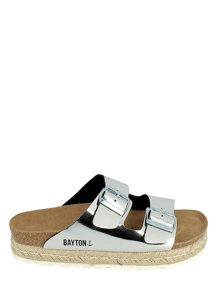 BAYTON Pantoletten in Silber
