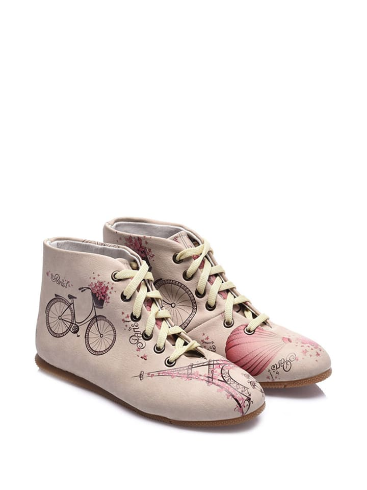 Streetfly Ankle-Boots in Beige - 69% 19F0usJzE