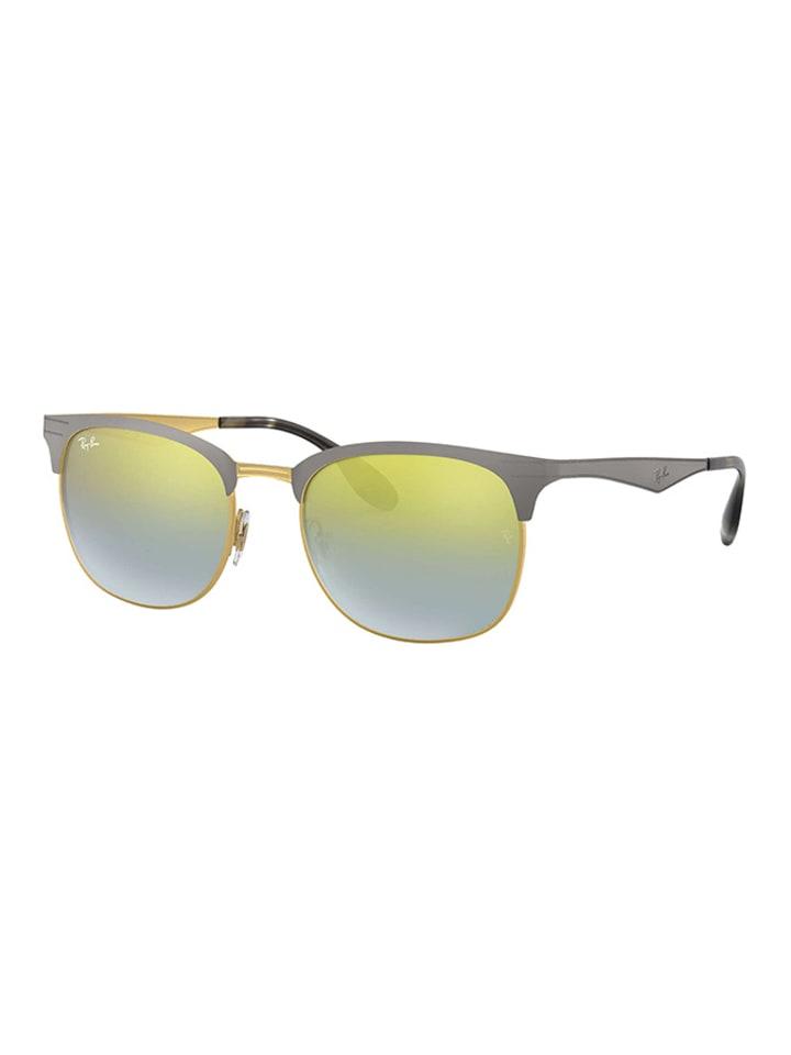 ray ban sonnenbrille grün gold