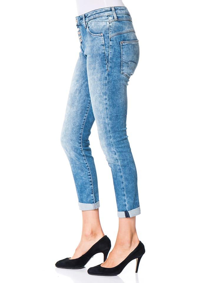 """Mavi Jeans Jeans """"Mira"""" - Boyfriend - in Hellblau"""