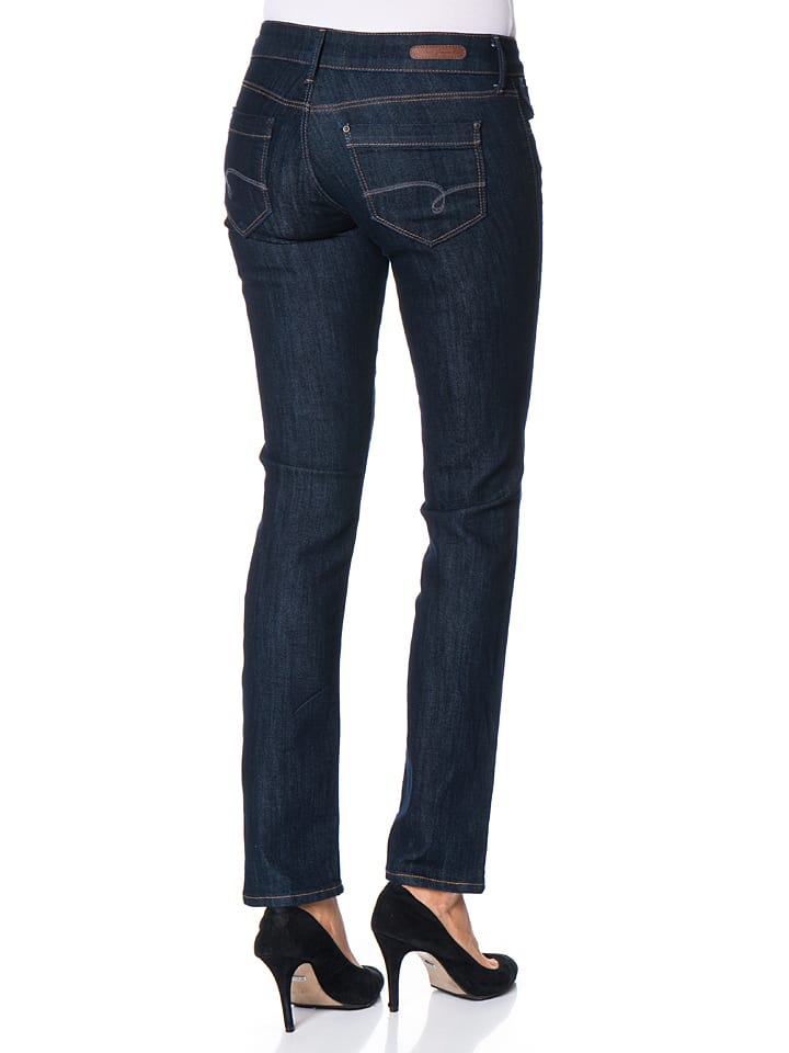 "Mavi Jeans Jeans ""Julia"" - Slim Straight Leg - in Dunkelblau"