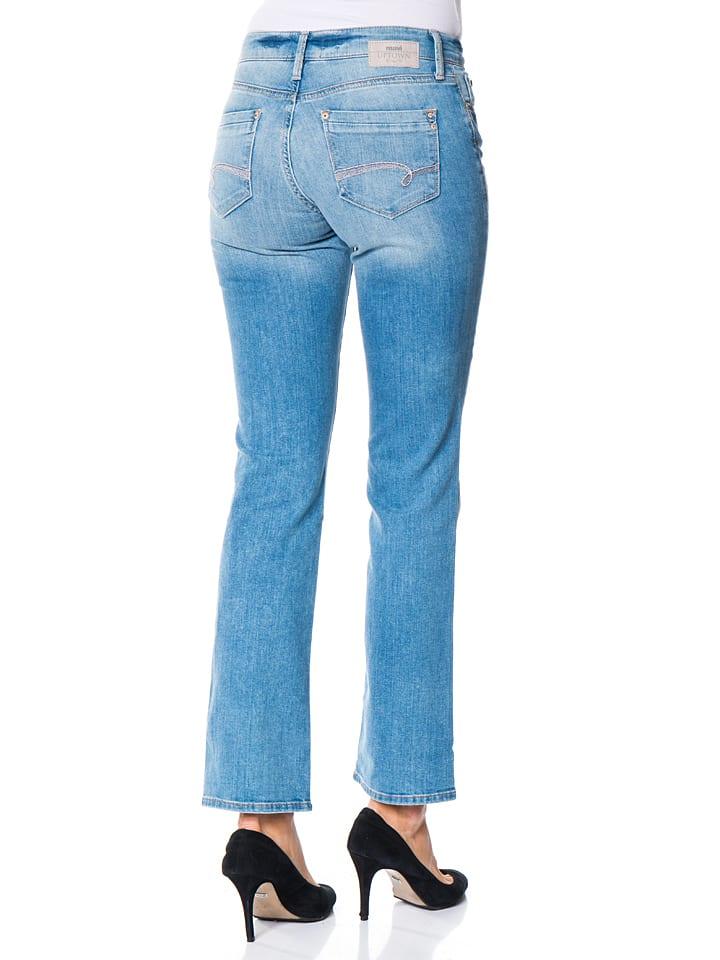 "Mavi Jeans Jeans ""Mona"" - Straight Leg - in Hellblau"