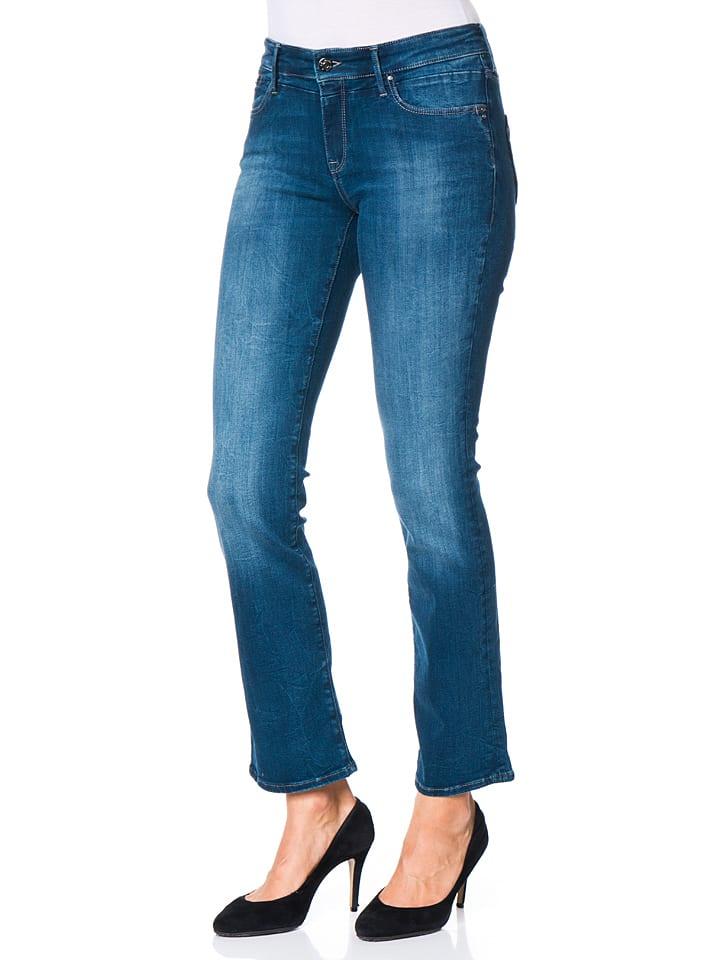 "Mavi Jeans Jeans ""Mona"" - Straight Leg - in Blau"