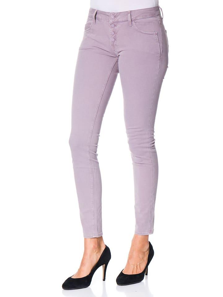 Mavi Jeans Jeans Adriana - Super Skinny - in Flieder