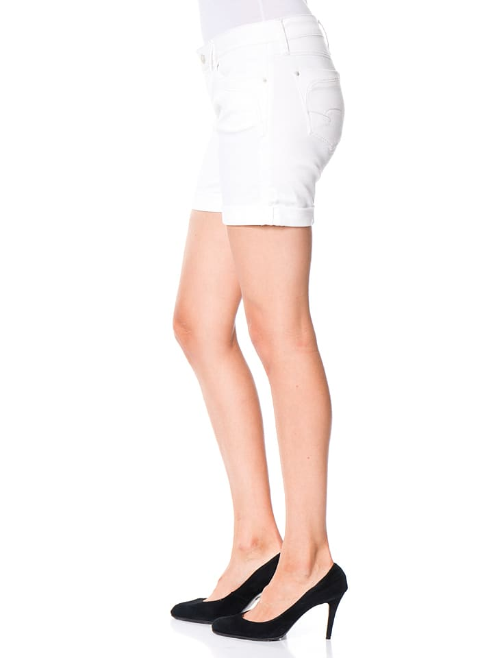 "Mavi Jeans Jeans-Shorts ""Camilla"" - in Weiß"