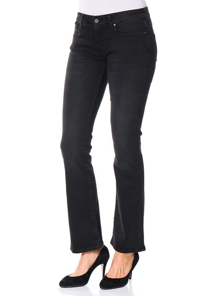 """Mavi Jeans Jeans """"Elina"""" - Bootcut - in Schwarz"""