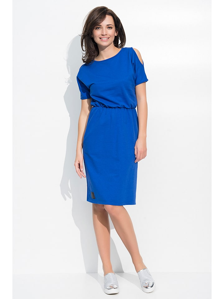 Numinou Kleid in Blau