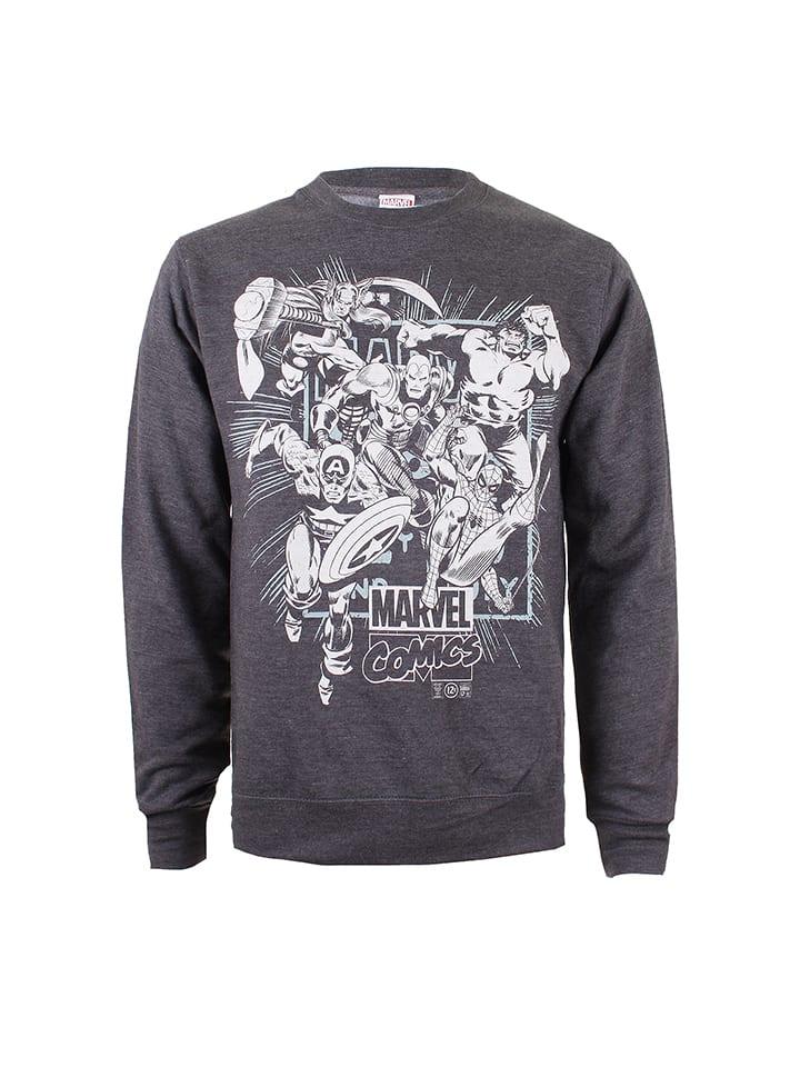 Marvel Sweatshirt in Anthrazit
