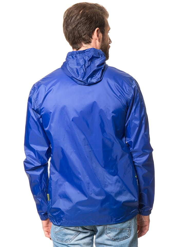 Peak Mountain Windbreaker in Blau
