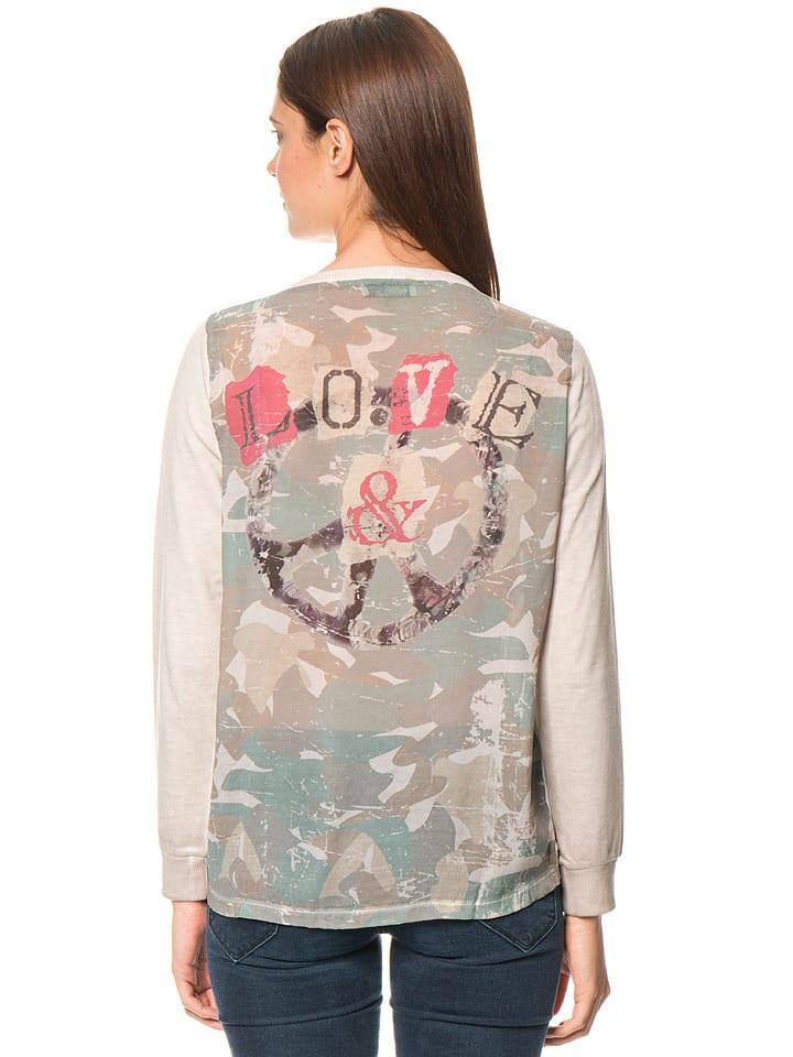 XOX Shirt in Taupe