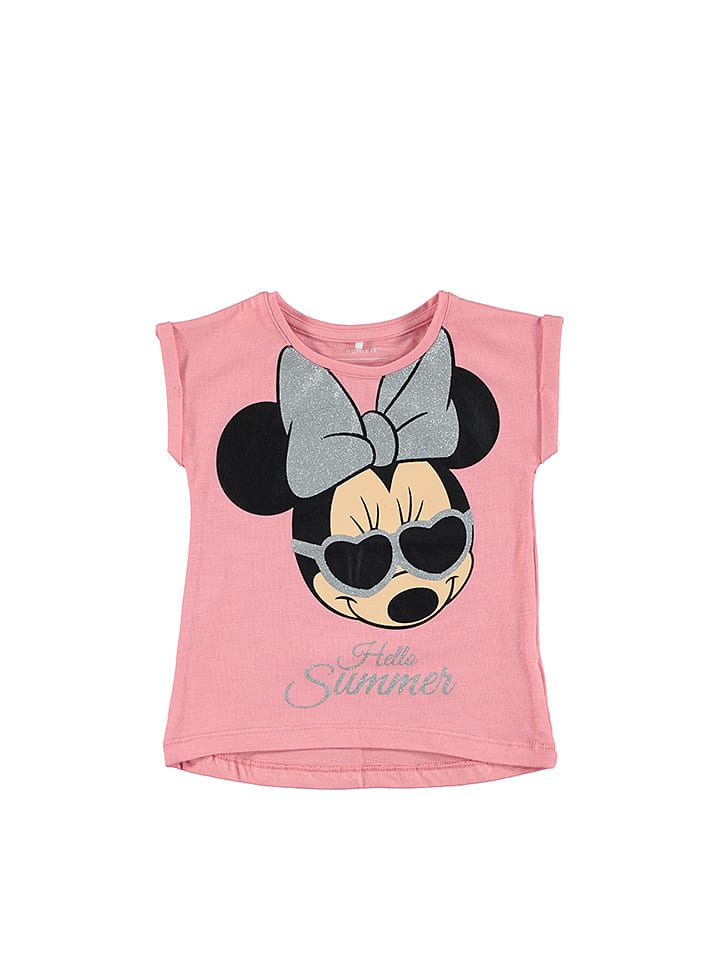 "Name it Shirt ""Minnie"" in Rosa"