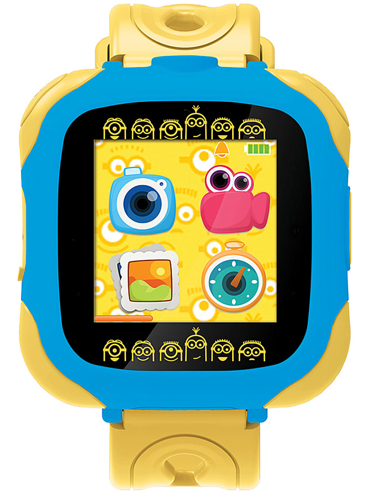 """Lexibook Smartwatch """"Despicable Me"""" in Blau/ Gelb"""