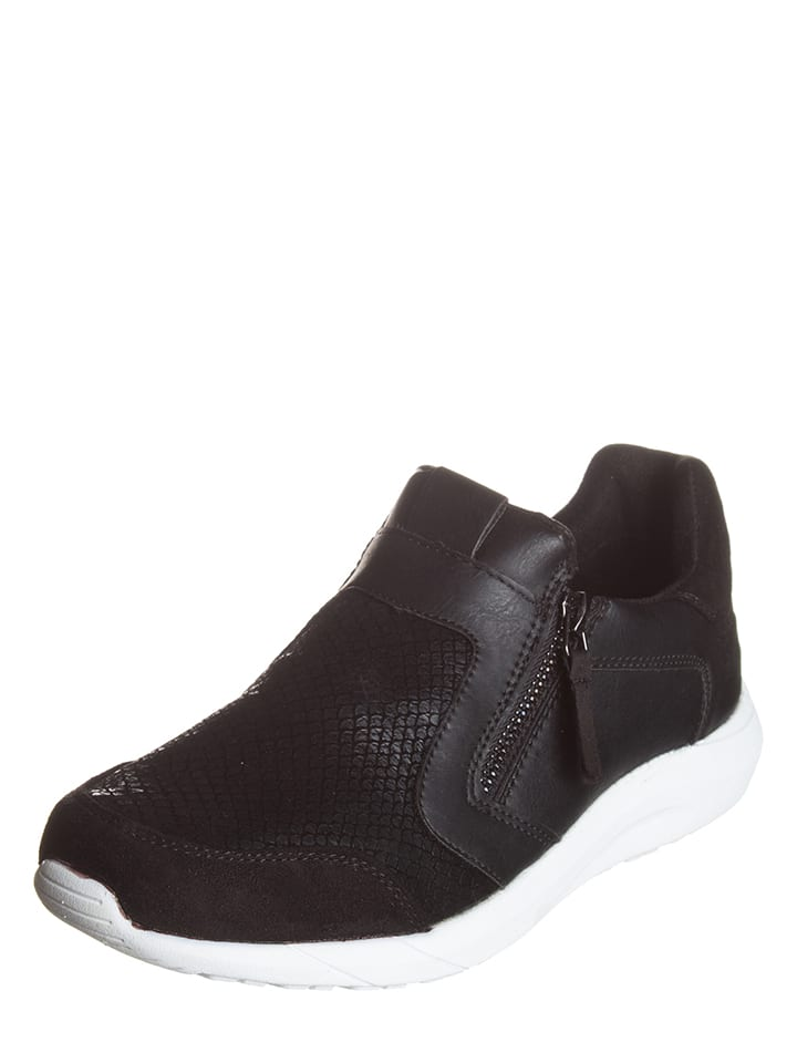 Tom Tailor Sneakers in Schwarz
