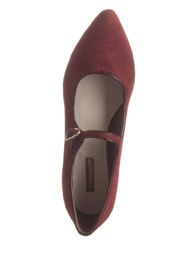 "ESPRIT Ballerinas ""Lyra MJ Ball"" in Bordeaux"