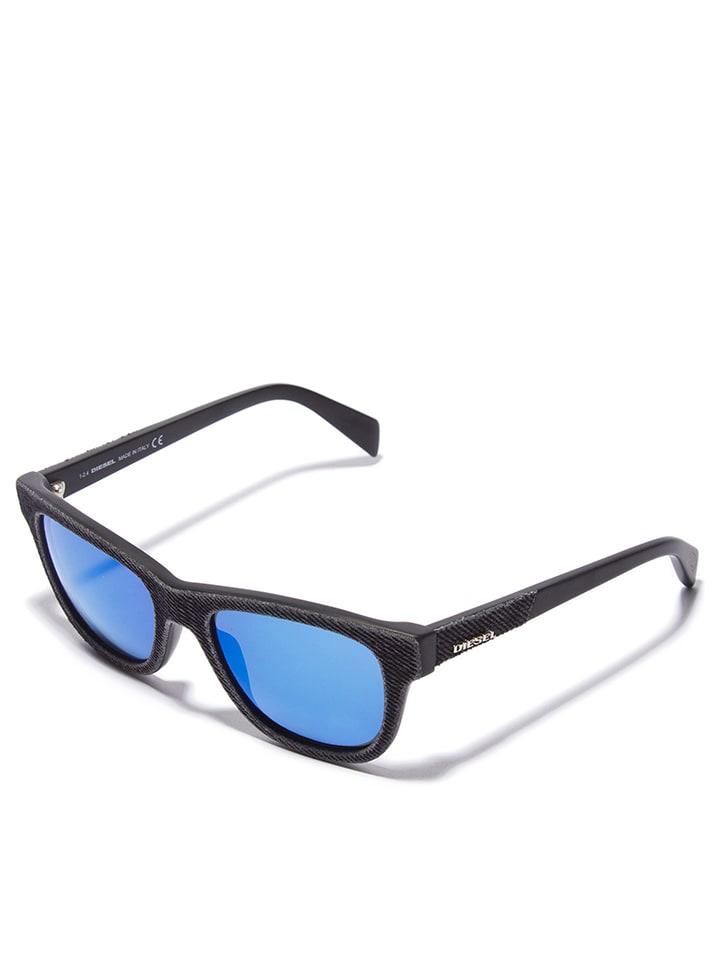 Diesel Unisex-Sonnenbrille in Blau - 61% E9GGVCz