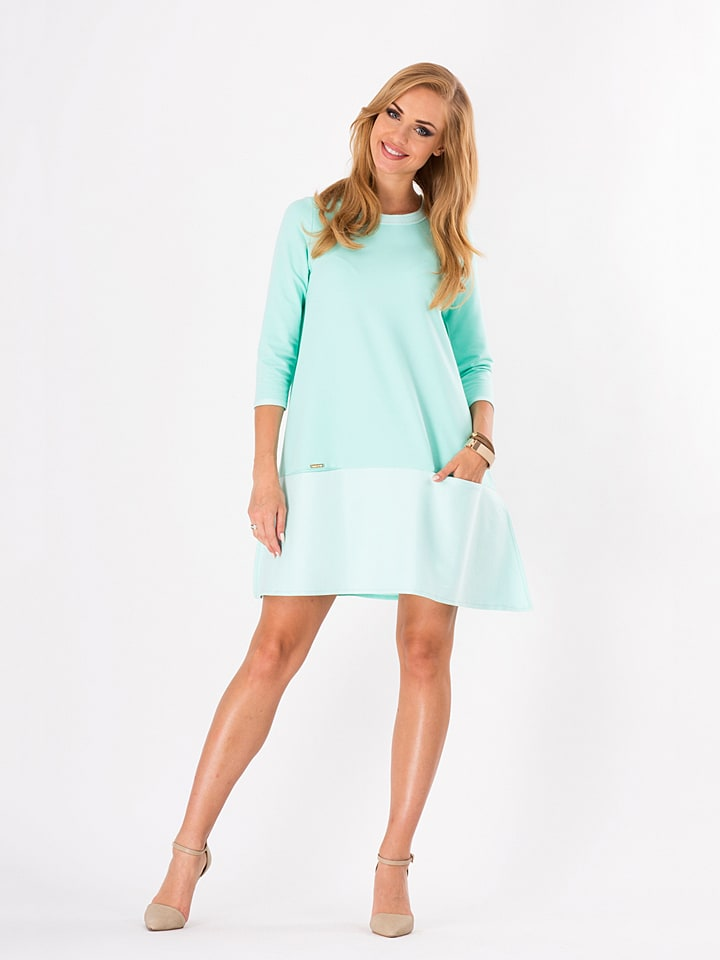 Makadamia Kleid in Mint