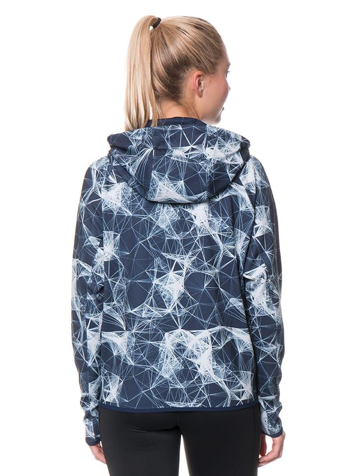 Adidas Jacke in Dunkelblau/ Weiß