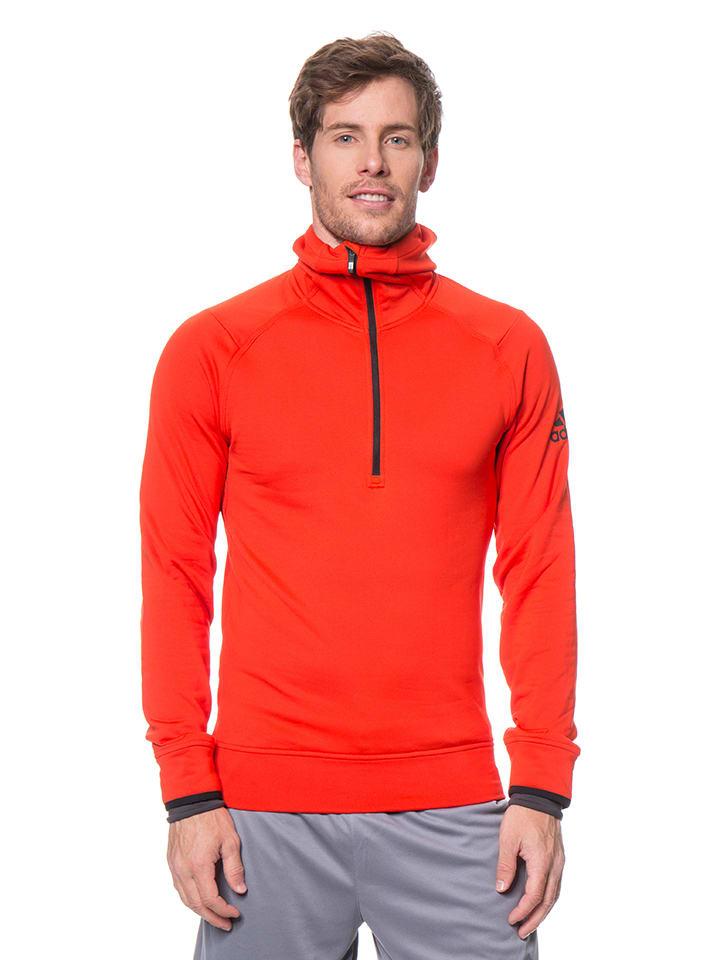 Adidas Fleecepullover in Orange