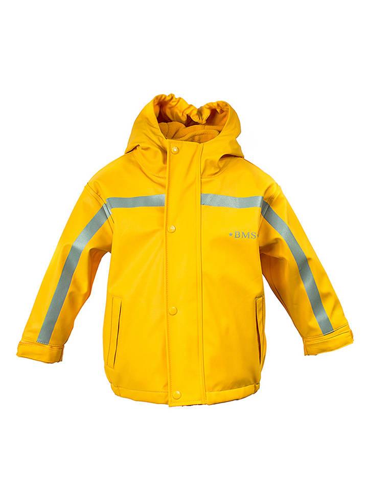 BMS Sailing Wear Regenjacke in Gelb