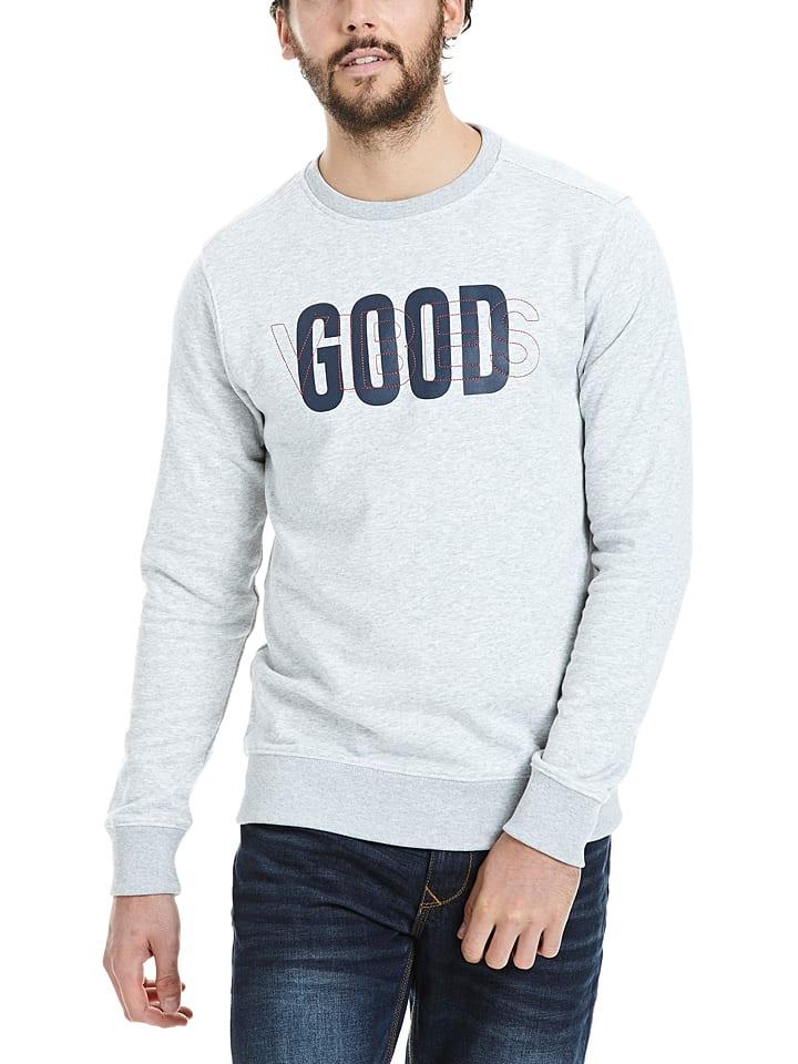 Bench Sweatshirt in Hellgrau