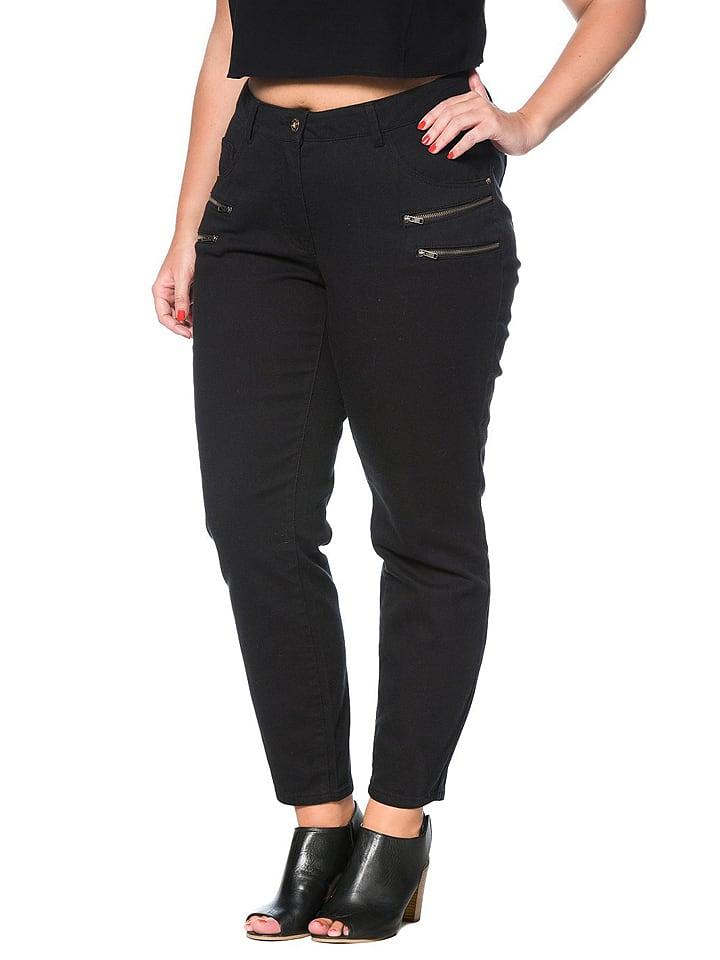 Studio Untold Jeans in Schwarz